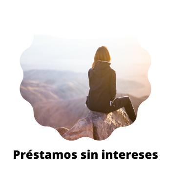 préstamos sin intereses
